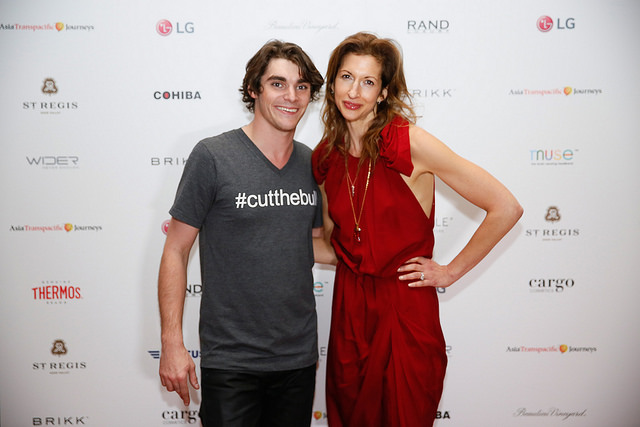 RJ Mitt and Alysia Reiner