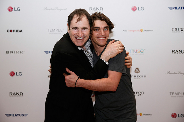 Richard Kind and RJ Mitt