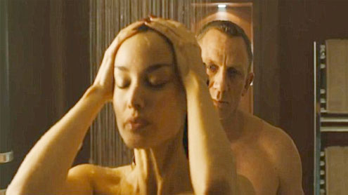 James Bond Having Sex In Shower 76